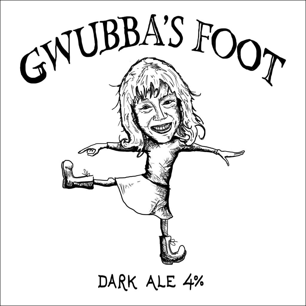 Gwubba's foot